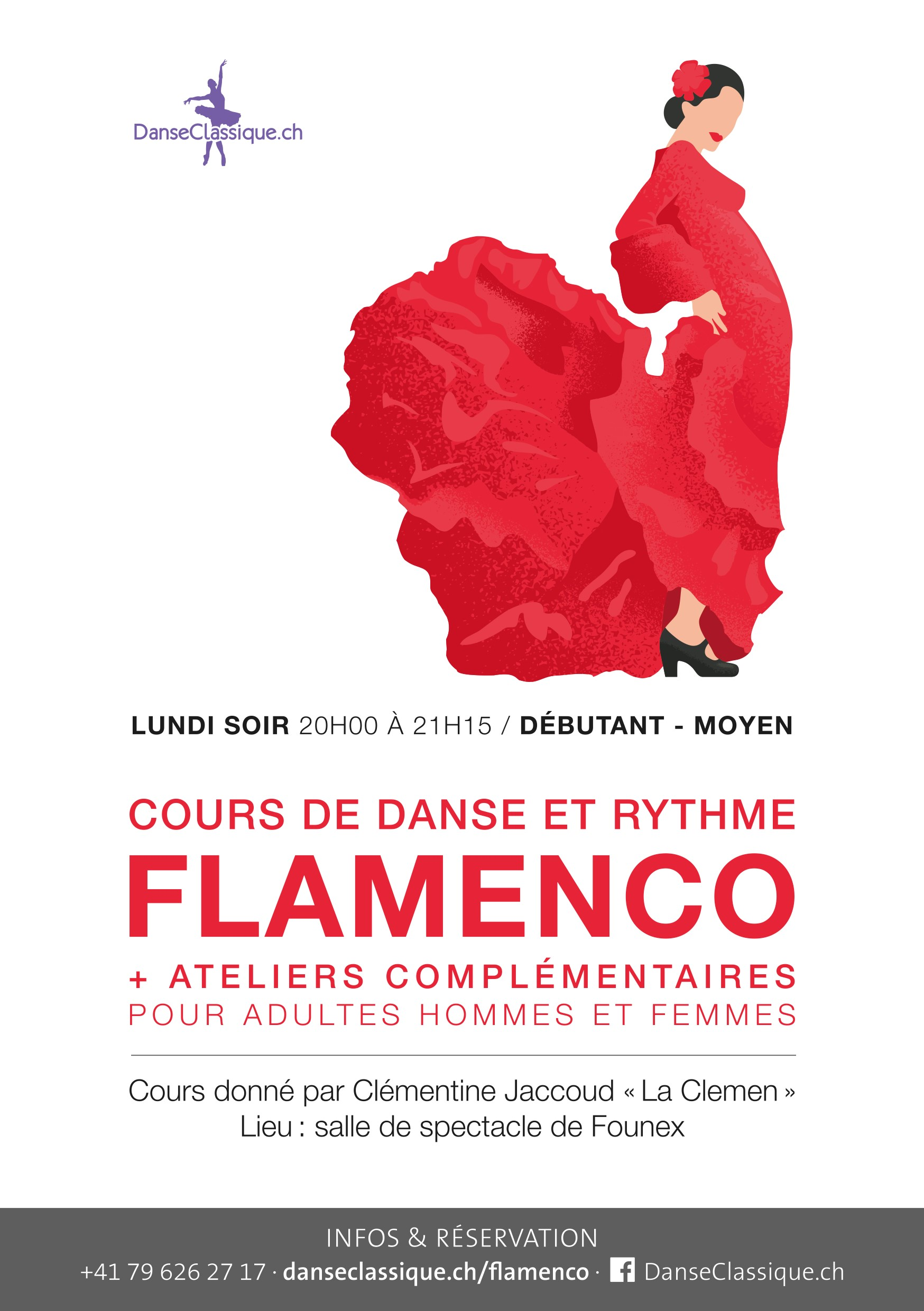 Flyer 2017 cours LUNDI